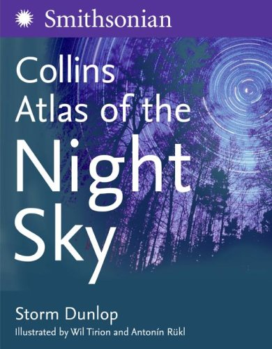9780060818913: Atlas of the Night Sky (Smithsonian Institution)