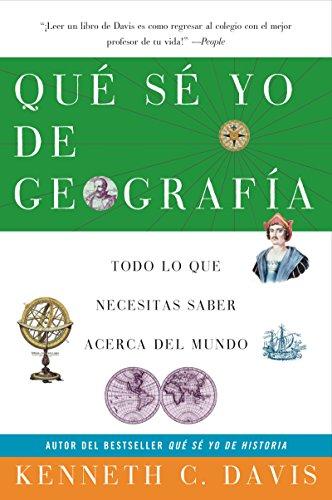 9780060820886: Que Se Yo de Geografia: Todo lo que Necesitas Saber Acerca del Mundo (Spanish Edition)