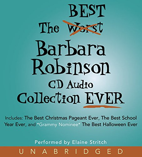 9780060821210: The Best Barbara Robinson CD Audio Collection Ever