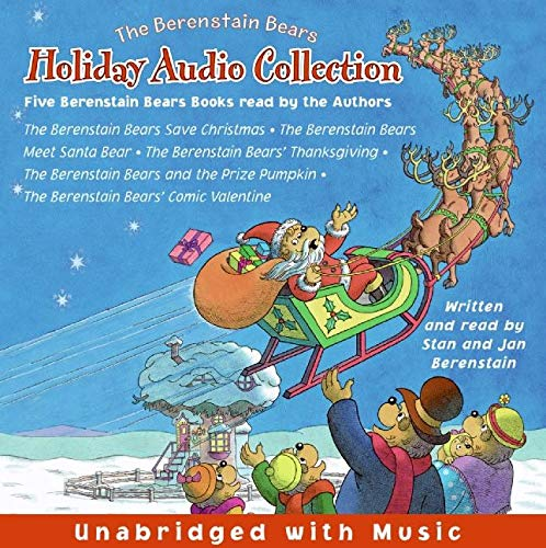 9780060821296: The Berenstain Bears CD Holiday Audio Collection