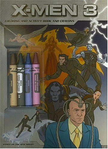 9780060822101: X-Men 3 - The Last Stand: Colouring and Activity Book and Crayons