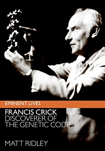 9780060823337: Francis Crick: Discoverer of the Genetic Code (Eminent Lives) (rough edge)