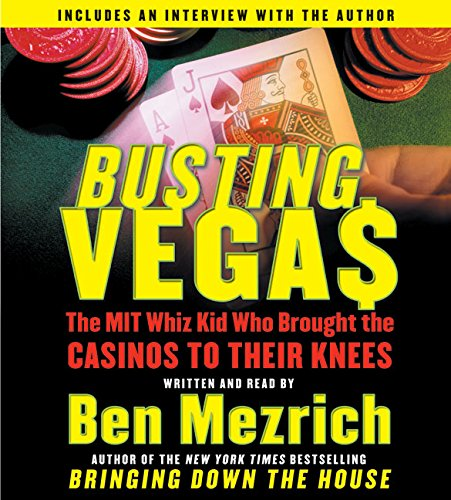 9780060823627: Busting Vegas CD: The MIT Whiz Kid Who Brought the Casinos to Their Knees