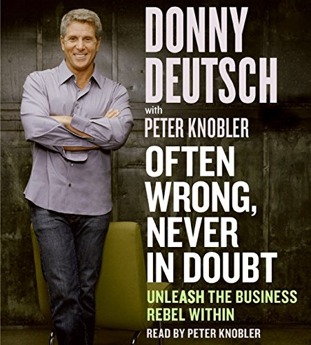 9780060823641: Often Wrong, Never in Doubt CD