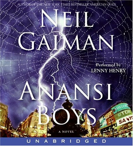9780060823849: Anansi Boys CD Unabridged