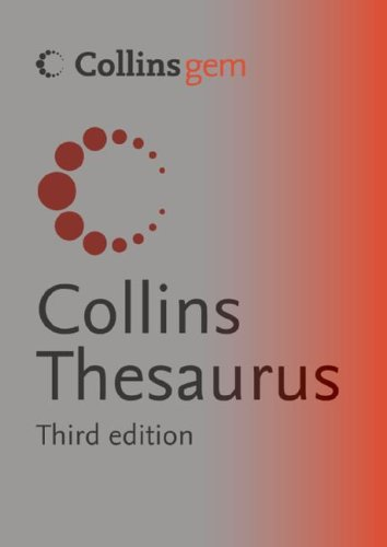 9780060825720: Collins Thesaurus (Collins Gem)