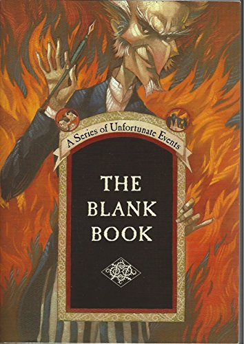 9780060826505: A series of Unfortunate Events: The Blank Book (A Series of Unfortunate Events)