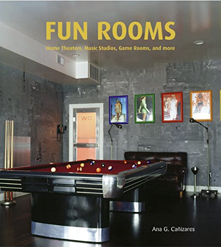 9780060829919: Rooms for Fun: Home Theatres, Music Studios, Game Rooms, And More