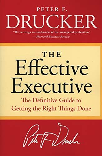 9780060833459: The Effective Executive