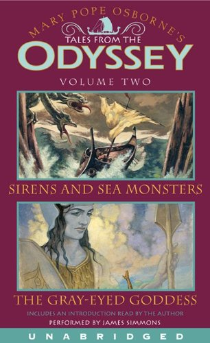 9780060835149: Tales From the Odyssey, Volume 2: Sirens and Sea Monsters / The Gray-Eyed Goddess
