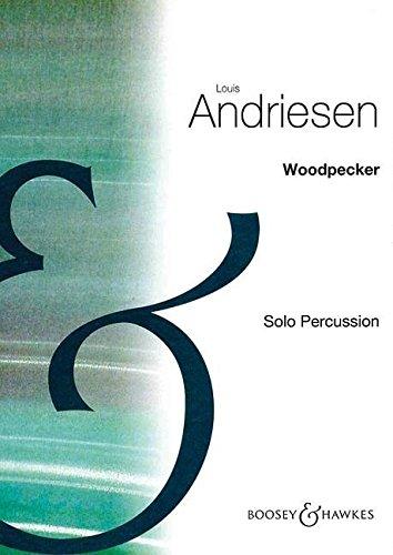 9780060836764: Woodpecker - Percussion [6 wood blocks, 5 temple blocks, marimba] - Book