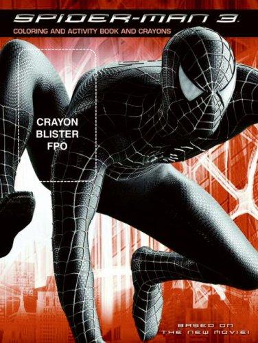 SPIDER MAN 3 COLORING + CRAYONS