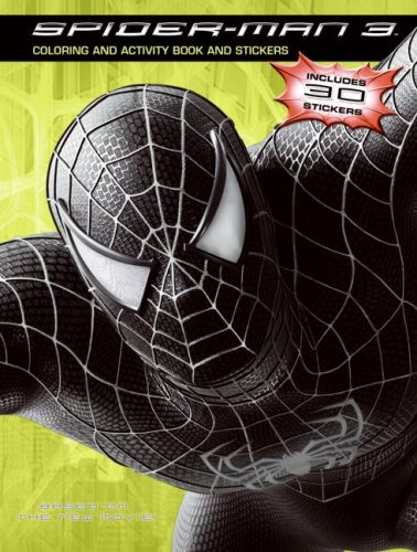9780060837273: Spider-man 3 Coloring And Activity Book And Stickers