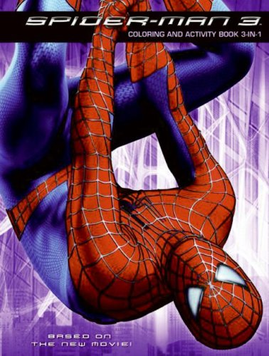 9780060837303: Spider-Man 3: Coloring and Activity Book 3-in-1