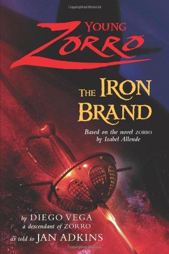 9780060839475: The Iron Brand (Young Zorro)