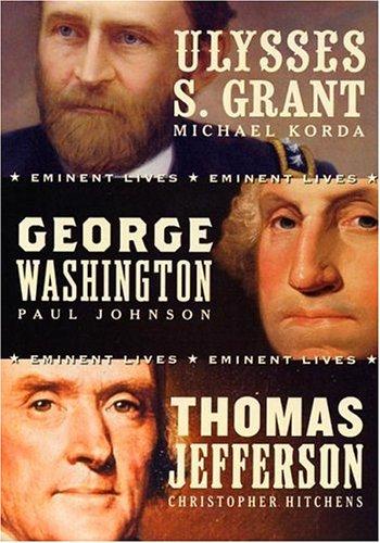 9780060844769: American Presidents Eminent Lives Boxed Set: George Washington, Thomas Jefferson, Ulysses S. Grant
