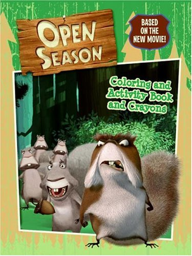 9780060846114: Open Season: Coloring and Activity Book and Crayons