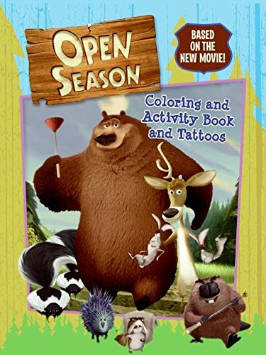 9780060846152: Open Season: Coloring and Activity Book and Tattoos
