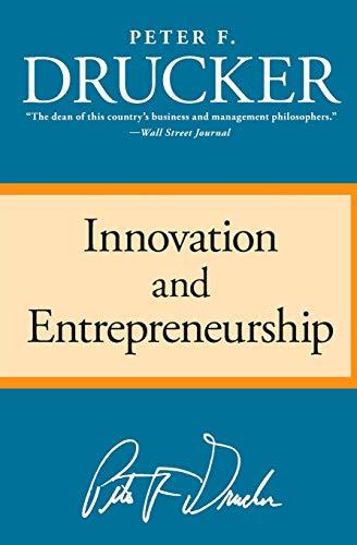 9780060851132: Innovation and Entrepreneurship