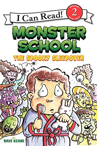 9780060854775: Monster School: The Spooky Sleepover (I Can Read Level 2)