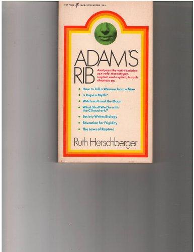 9780060870034: Adams rib (Har/row books)