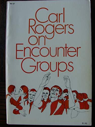 9780060870454: Carl Rogers on encounter groups, (Harrow books)