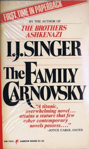 The Family Carnovsky: I. J. Singer; I. J. Singer