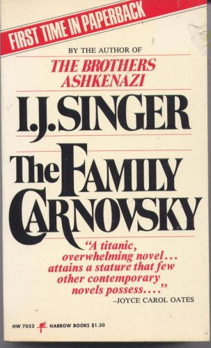 9780060870539: The Family Carnovsky
