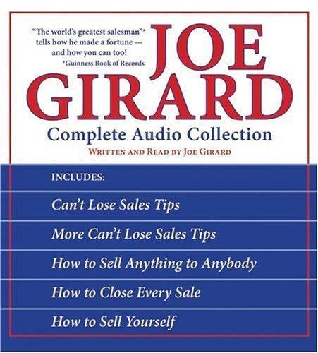 Joe Girard Complete Audio Box Set CD: Joe Girard