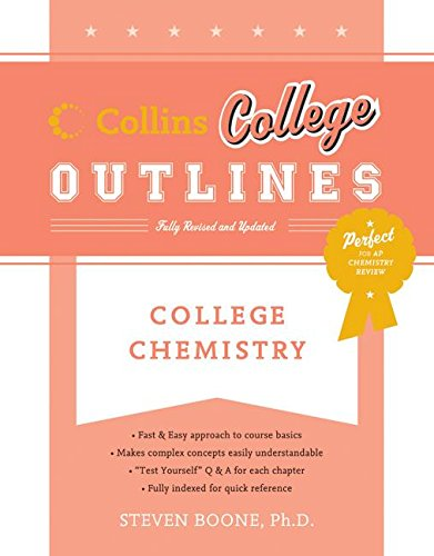 9780060881474: College Chemistry (Collins College Outlines)