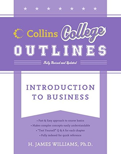 9780060881498: Introduction to Business (Collins College Outlines)