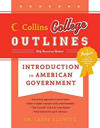 9780060881511: Introduction to American Government (Collins College Outlines)