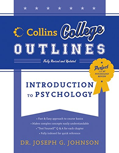 9780060881528: Introduction to Psychology (Collins College Outlines)