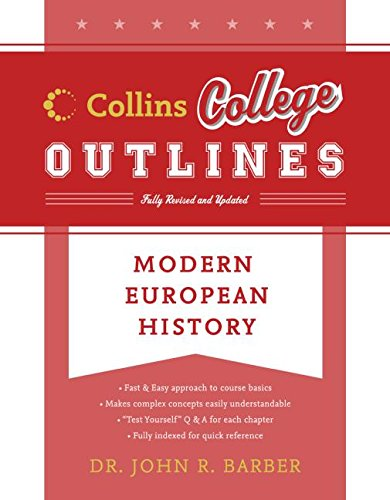 9780060881535: Modern European History (Collins College Outlines)