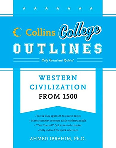 9780060881603: Western Civilization from 1500 (Collins College Outlines)