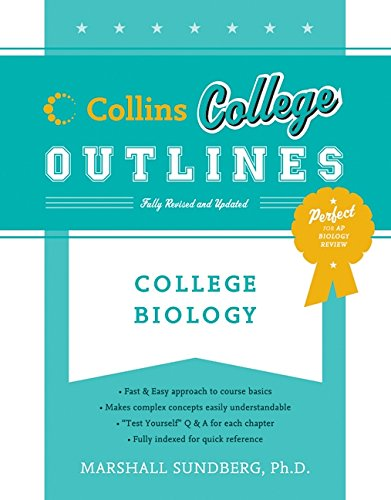 9780060881610: College Biology (Collins College Outlines)