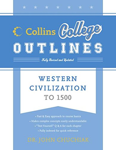 9780060881627: Western Civilization to 1500 (Collins College Outlines)