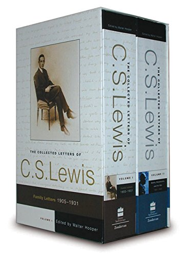 9780060882280: The Collected Letters of C. S. Lewis 2 Volume Boxed Set