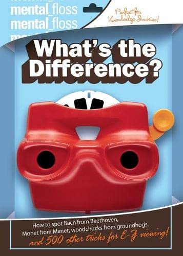 9780060882495: Mental Floss: What's the Difference?
