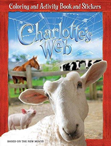 9780060882754: Charlotte's Web: Coloring and Activity Book and Stickers