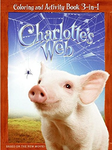 9780060882761: Charlotte's Web: Coloring and Activity Book 3 in 1