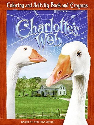 9780060882792: Charlotte's Web: Coloring and Activity Book and Crayons (Charlotteæs Web)