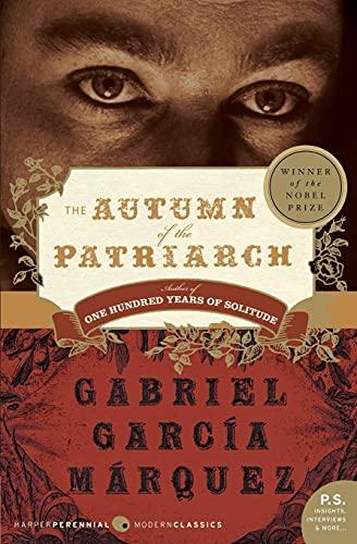 The Autumn of the Patriarch: Garcia Marquez, Gabriel