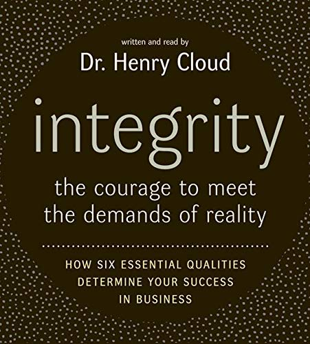 9780060886714: Integrity CD: The Courage to Meet the Demands of Reali