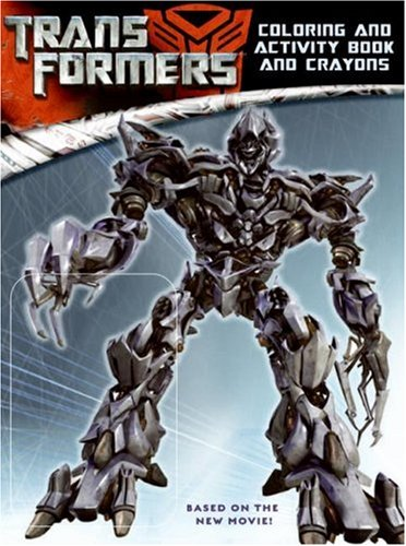 9780060888251: Transformers: Coloring and Activity Book and Crayons