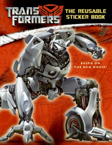 9780060888336: Transformers: The Reusable Sticker Book
