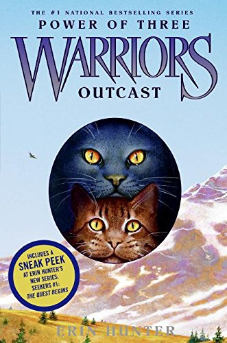 9780060892098: Warriors: Power of Three #3: Outcast