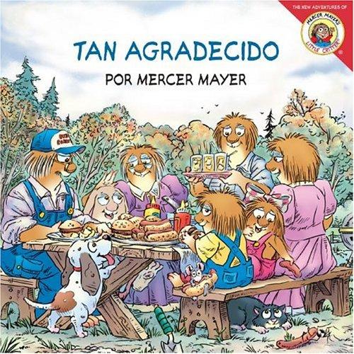 9780060892432: Little Critter: Just So Thankful (Spanish edition): Little Critter: Tan agradecido