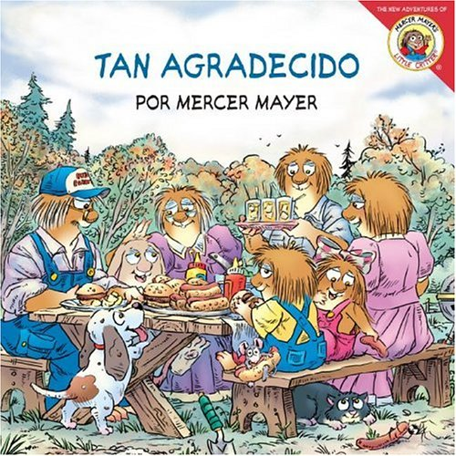 9780060892432: Little Critter: Just So Thankful (Spanish edition): Little Critter: Tan agradecido