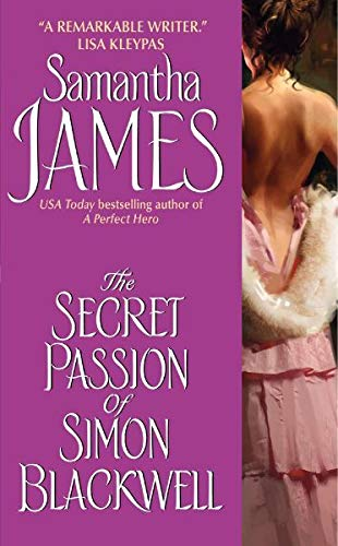 9780060896454: The Secret Passion of Simon Blackwell (Avon Historical Romance)